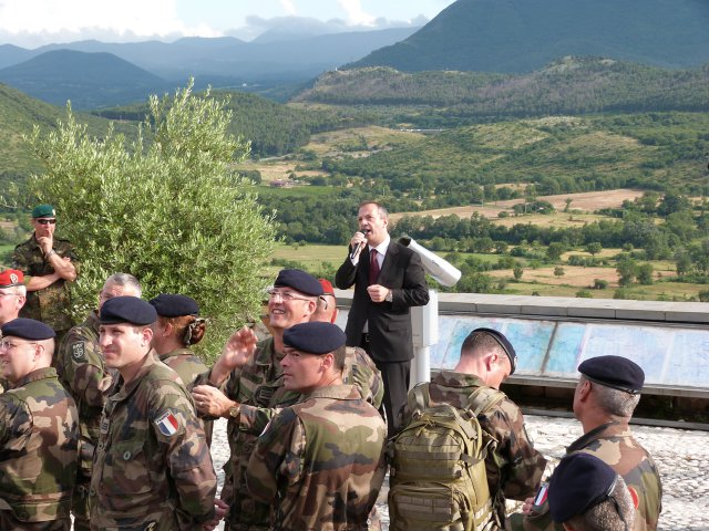Staff Ride NATO - Il Rapid Reaction Corps a Cassino, Giugno 2014